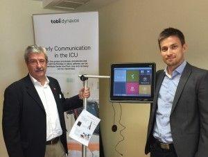 Conasa presenta la nueva tecnología Tobii Dynavox, que permite la comunicación con el equipo médico de aquellos pacientes con funciones comunicativas limitadas